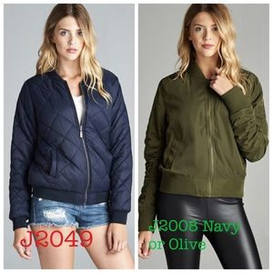 Jackets & Blazers - Popular bomber jacket new with tags